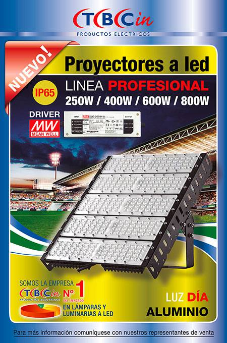 PROYECTOR A LED PROFESIONAL